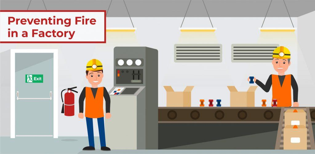 Fire Safety In A Factory