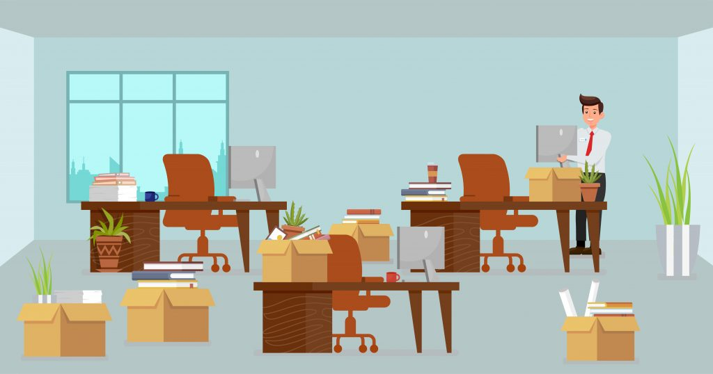 Office Downsizing- Facts and Fire Safety